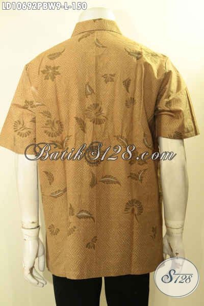 Olshop Baju Batik Paling Up To Date, Sedia Kemeja Batik Solo Halus Lengan Pendek Bahan Adem Proses Printing Motif Terbaru Hanya 150K, Size L