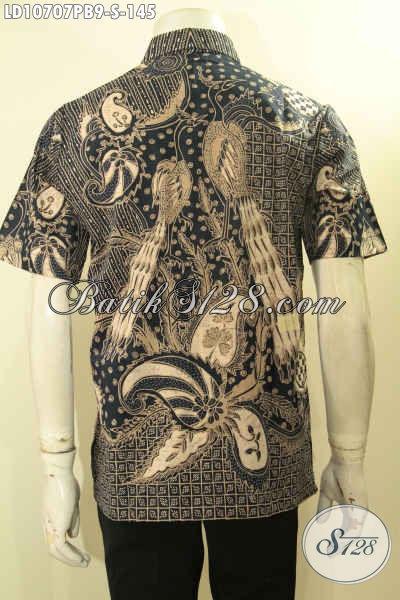 Model Baju Batik Kerja Lelaki Muda, Hem Batik Remaja Pria Ukuran S, Hadir Dengan Motif Trendy Warna Klasik Harga 145K [LD10707PB-S]