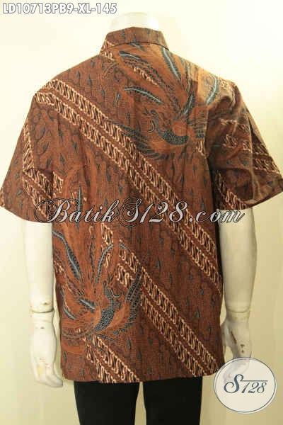 Toko Baju Batik Online, Sedia Kemeja Kerja Pria Modis Motif Klasik Mewah Dan Elegan, Cocok Untuk Acara Formal, Size XL