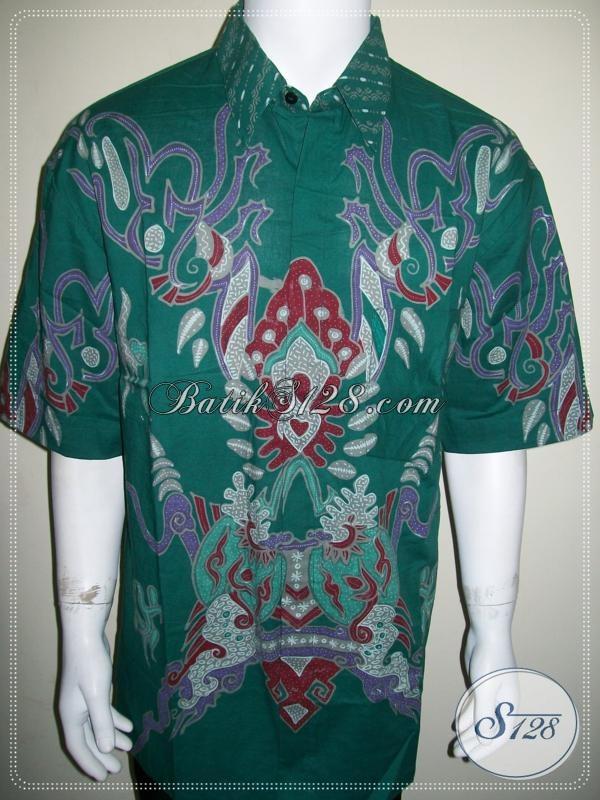 Sedia Kemeja Batik Pria Big Size Ukuran Jumbo Xxl Baju