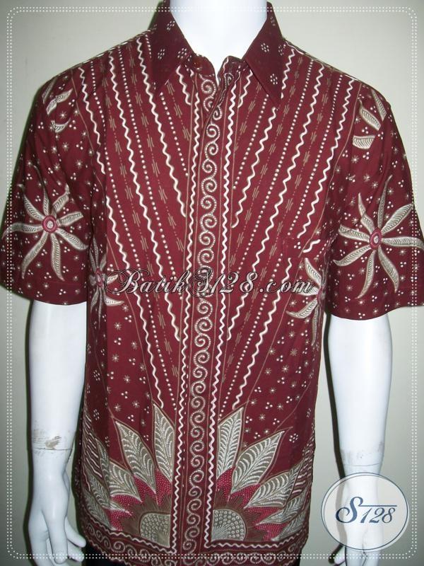 Jual online dan offline aneka kemeja batik pria model Jual baju gamis untuk pria