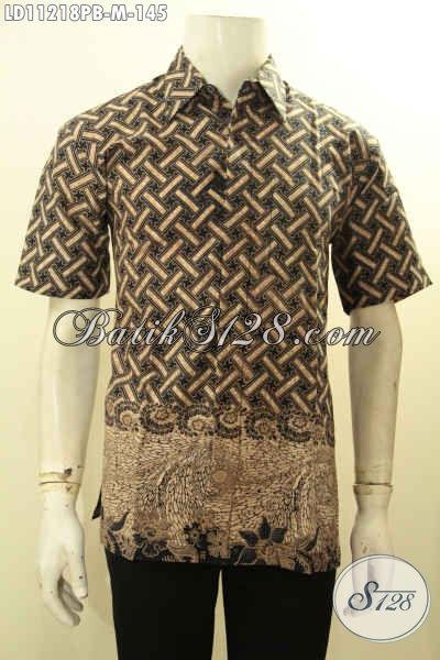 Batik Kemeja Asli Solo Nan Berkelas, Hadir Dengan Motif Mewah Warna Bagus Tren Masa Kini Proses Printing Cabut, Bikin Penampilan Mempesona Hanya 100 Ribuan