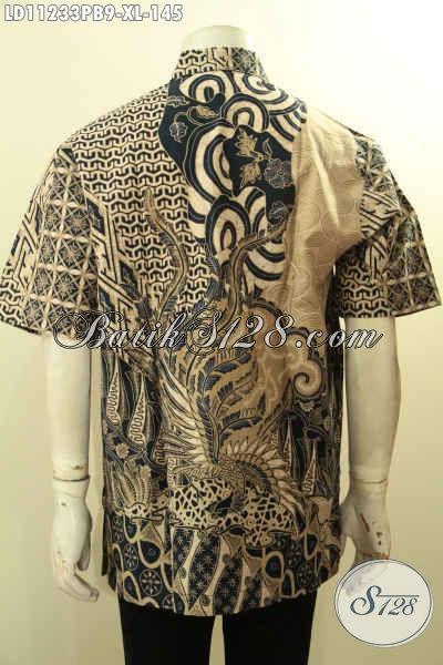 Pusat Baju Batik Online Khas Jawa Tengah, Sedia Hem Batik Solo Modern Motif Bagus Desain Terbaru, Pas Banget Untuk Acara Santai Maupun Resmi