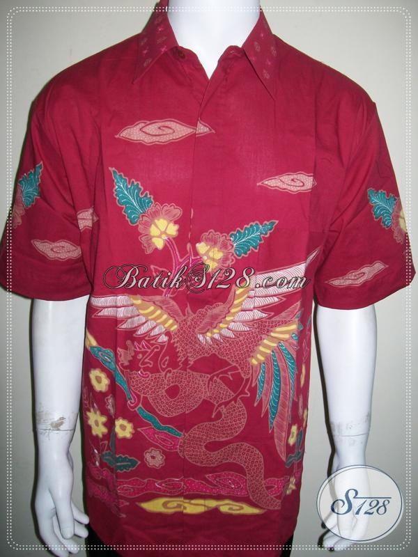 Jual Batik Ukuran Besar Laki-Laki Gemuk Modis Stylish [LD1155T-XXL]
