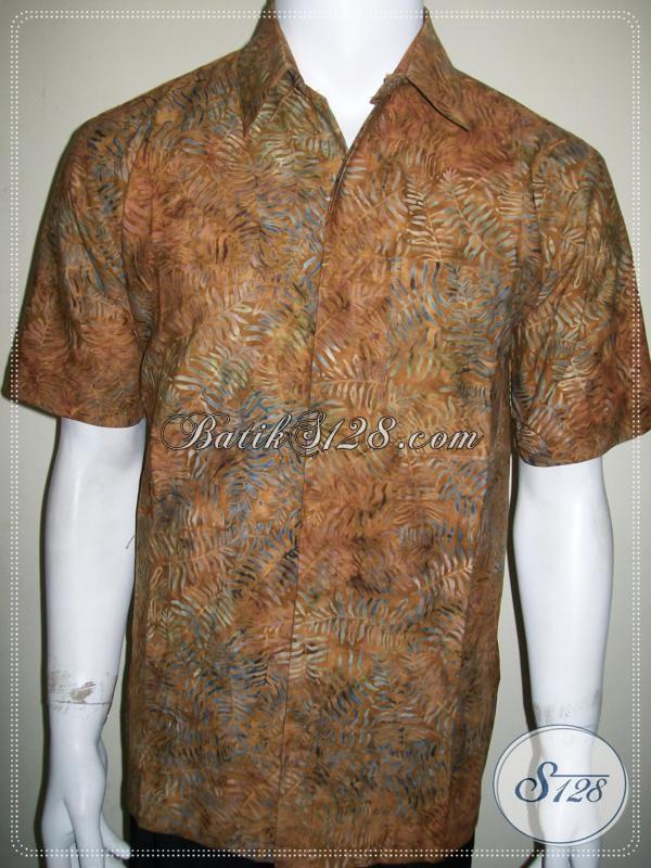 Batik Murah Berkualitas, Batik Cap Asli Solo, Motif Keren Batik Modern [LD1172CS-XL]