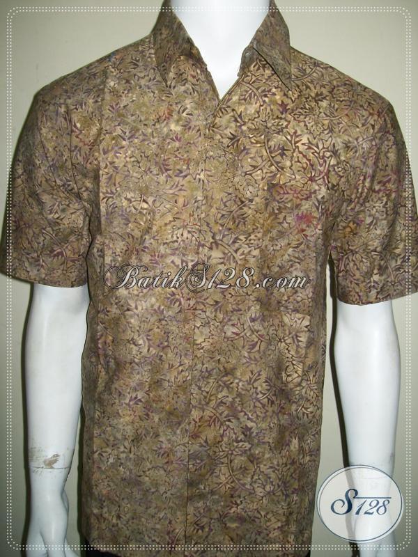 Pakaian Batik Murah Online Amanah, Batik Cap Lengan Pendek [LD1177CS-XL]