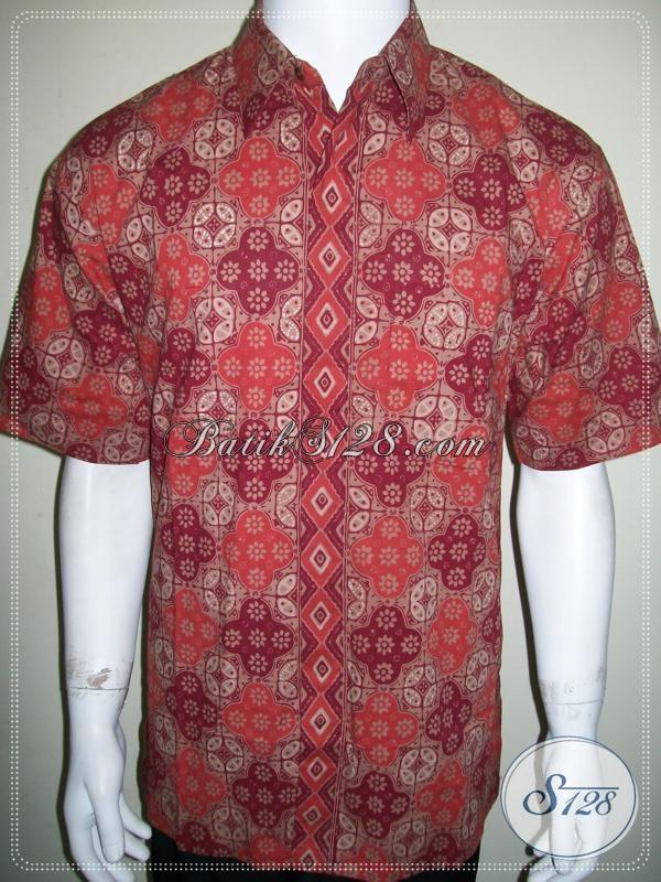 Baju Batik Eksklusif Pria Elegan Mewah Bahan Bagus