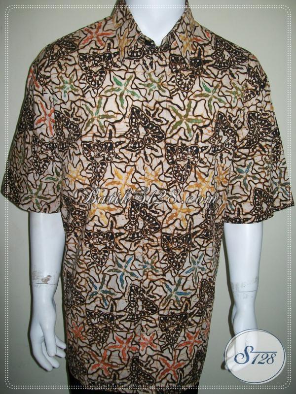 Kemeja Batik Super Besar Ukuran 4L Untuk Pria Gemuk XXL Jumbo Big Size