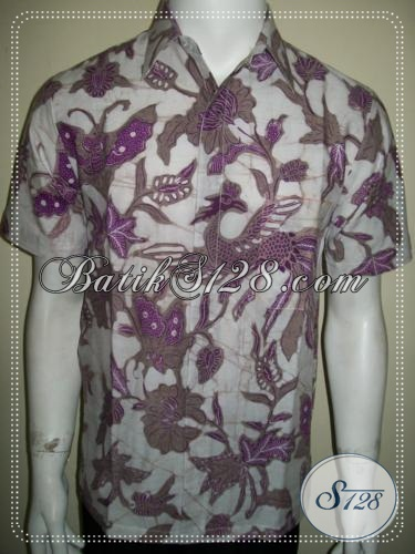 Batik Pria Muda Bergaya Lengan Pendek, Batik Remaja Masa Kini [LD1250BT-S]