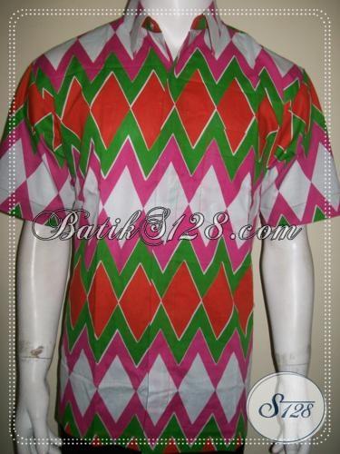 Baju Batik Murah Motif Unik, Cocok Untuk Anak Muda Percaya Diri[LD1272P-L]