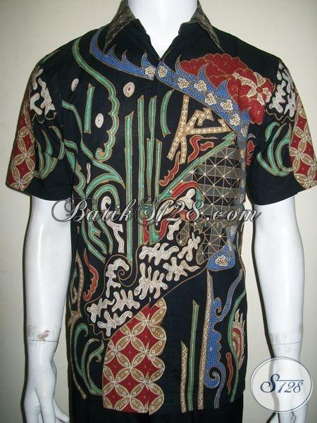 Batik Modern Kontemporer Untuk Pria Pecinta Batik Tulis Berkeslas [LD1296T-M]