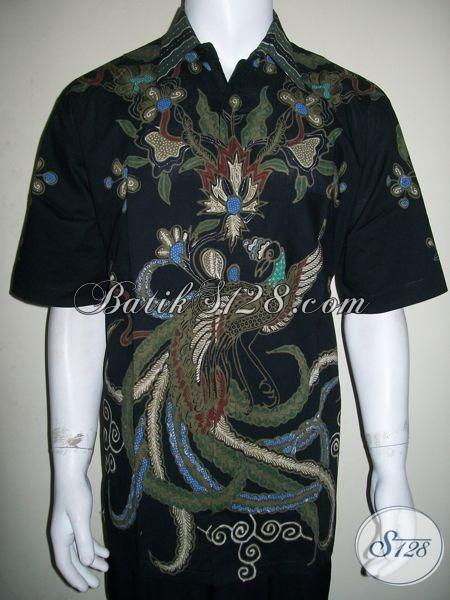 Batik Jumbo Murah Untuk Pria Size Besar Lengan Pendek, Elegan Dan Eksklusif [LD1308T-XXL]