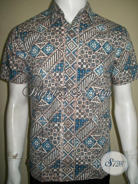 Batik Pria Proses Warna Alam,Batik Pria Modern Dan Trendy [LD1391CA-S]