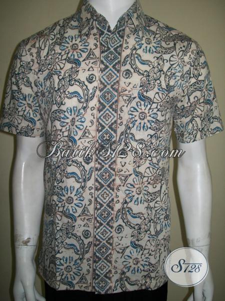 Kemeja Batik Pria Pegawai Bank Pakaian Batik Pria Model Modern