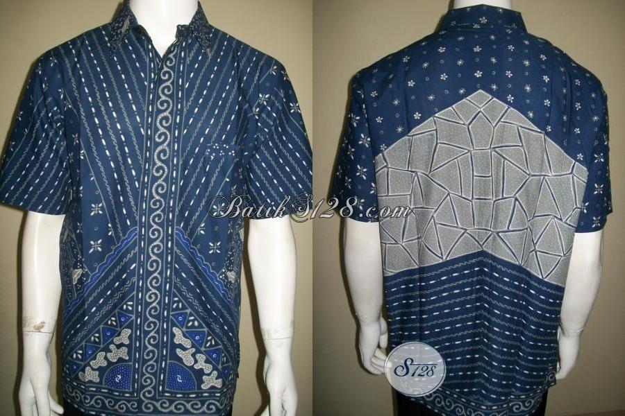 Baju BAtik Tulis Pria Model Masa Kini,Toko Batik Tulis Pria Terbaru [LD1412T-L]