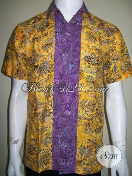 Baju Batik Remaja Anak Muda Dewasa Tidak Terlalu Formal Resmi, Nyaman Dipakai [LD1523CS-M]