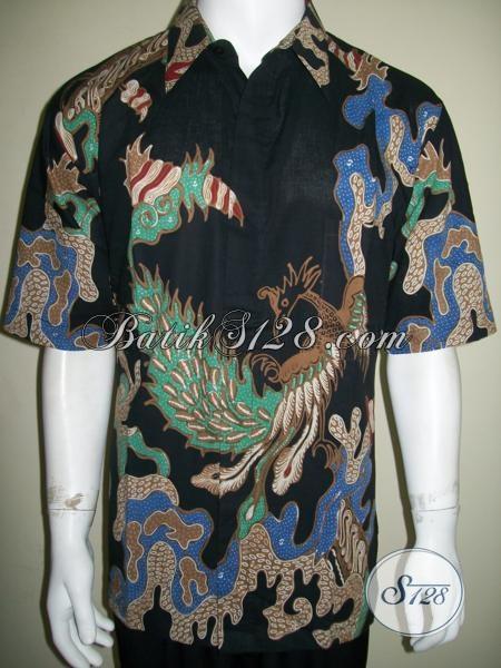 Penjual Batik Pria Online Terpercaya Motif Modern Bagus [LD1541T-XL]