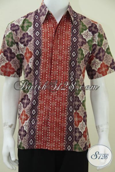 Kemeja Batik Model SBY Lengan Pendek, Tampil Keren Dan Beda [LD1566CT ...