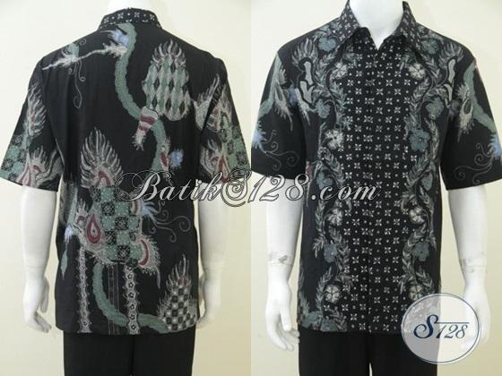 Hem Batik Online Unik Harga Murah, Batik Tulis Solo Asli [LD1641T-XL]