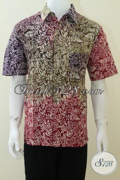Distro Batik Online Murah Berkwalitas, Baju Batik Solo Pria Muda Dan Dewasa Motif Bagus Bahan Halus, Size L
