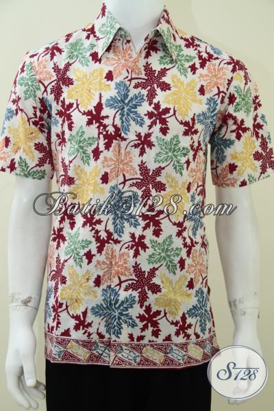 Baju Batik Warna Cerah Untuk Anak Muda Remaja Pria Terbaru
