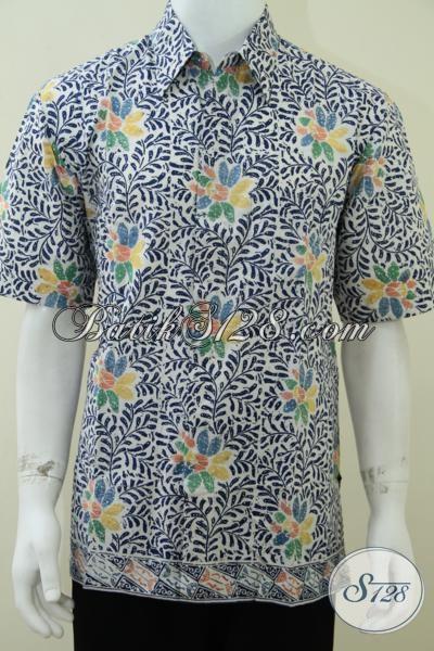 Baju Batik Pria Online Bagus Bahan Katun Jenis Batik Cap