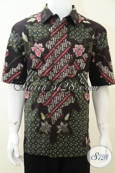 Baju Batik Pria Full Furing Adem Nyaman Dipakai Bahan Bagus Jahitan Rapih [LD1864T-XL]