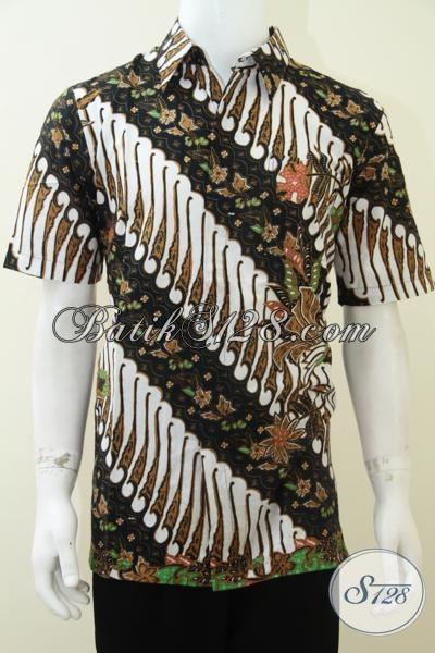 Baju Batik Murah Meriah Dijual Online, Batik Solo, Penjual Terpercaya [LD1872P-L]