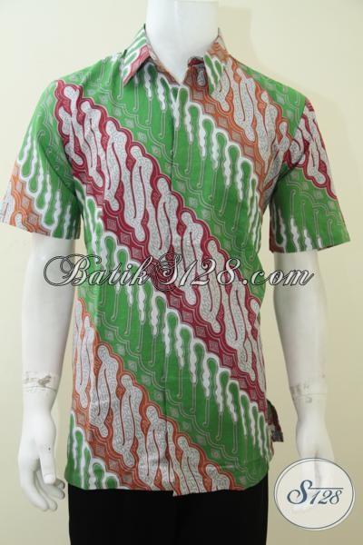 Beli Batik Online Murah Solo Terpercaya, Corak Klasik Modern [LD1878P-L]