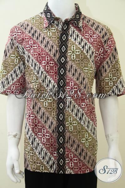 Batik Pria Ukuran XXL Exclusive Elegance, Bagus, Berkualitas, Nyaman [LD1907CT-XXL]
