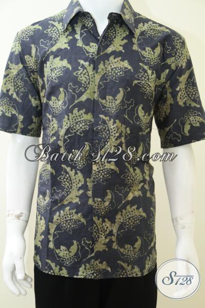 Jual Kemeja Batik Harga Terjangkau, Baju Batik Pria Motif Terkini Modis Dan Trendy, Size L