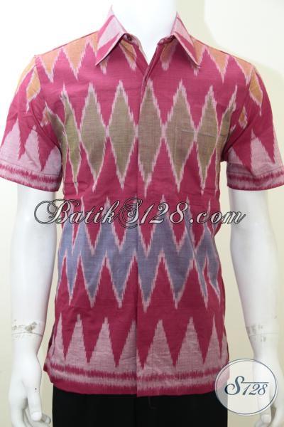 Model Baju Tenun Pria Terbaru, Pakaian Asli Indonesia [LD1975NF-M]