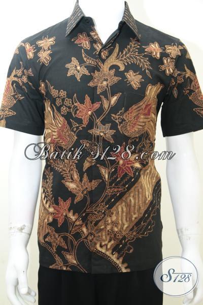 Baju Batik Pria, Baju Batik Modern, Motif Bagus, Size S Dewasa [LD1994TS-S]