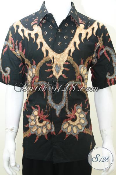 Kemeja Batik Pria Modern, Baju Batik Kerja Kantor, Kondangan, Acara Resmi, Acara Santai [LD1999TS-L]
