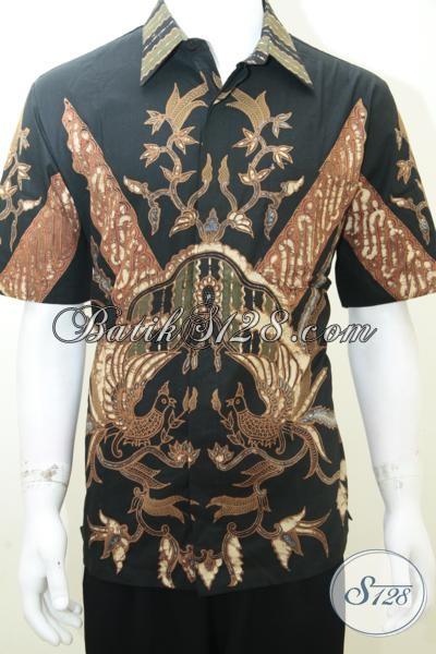 Baju Batik Online, Batik Tulis Pria Modern Bagus [LD2001TS-L]