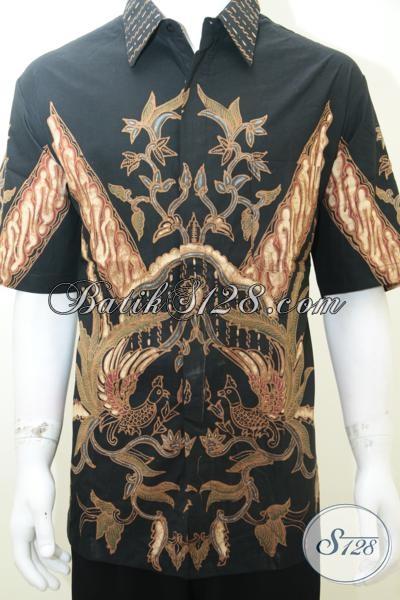 Kemeja Batik EKsklusif Pria Gemuk, Baju Batik Solo Premium Klasik Modern Tampil Ramping Gagah Dan Percaya Diri, Size XXL Jumbo