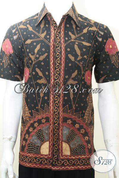 Baju Batik Gaul Pria Keren Kualitas Bagus Jahitan Rapih