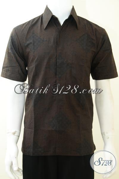 Busana Batik Trendy Anak Muda Masa Kini, Baju Batik Solo Bagus Harga Terjangkau, Size M