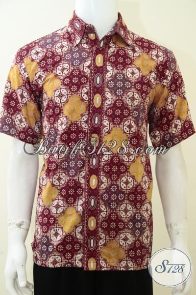 Baju Kemeja Batik Elegan Pria, Untuk Kondangan, Acara Resmi, Santai [LD2062CT-M]