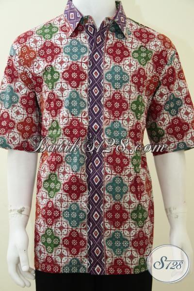 Kemeja Baju Batik Pria Ukuran Jumbo Besar Big Size 3l