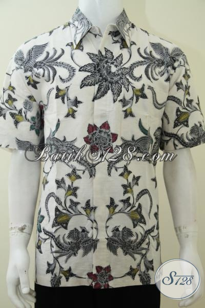 Baju Batik Putih Elegan Dan Maskulin Ld2107bt L Toko