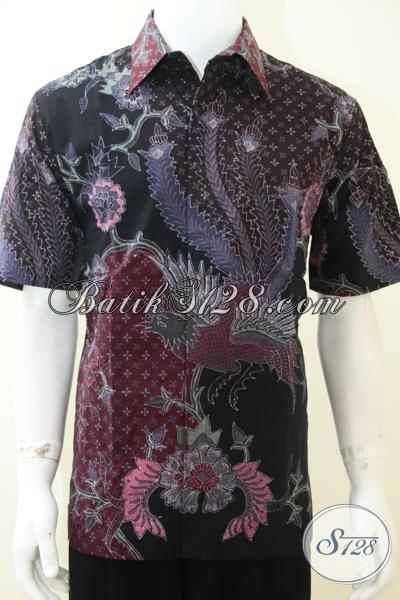 Baju Batik Online Untuk Pria Mapan, Elegan, Tampil Mewah Berkelas [LD2133TF-L]