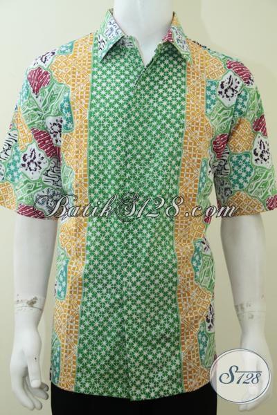 Baju Batik Cerah Ukuran Besar Big Size 3l Jumbo Untuk Pria