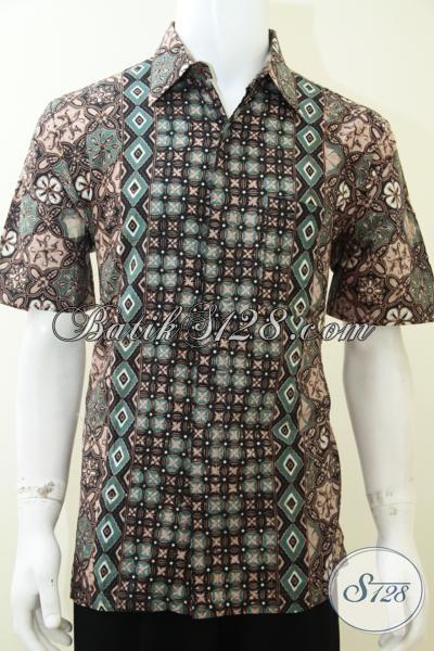 Model Baju Batik Lebaran 2014 Pria Keren Maskulin