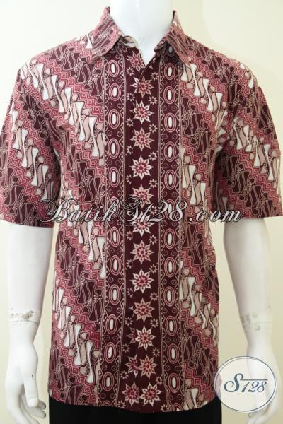 Baju Pria Kemeja Batik Keren Warna Elegan Eksklusif