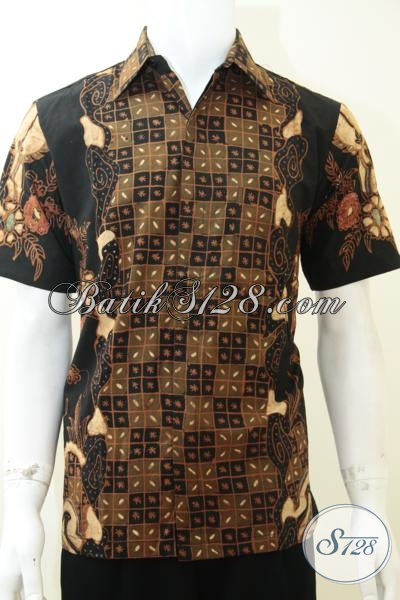 Kemeja Batik Tulis Istimewa Asli Buatan Pengerajin, Baju Batik Resmi Cocok Untuk Kondangan Dan Rapat, Size M