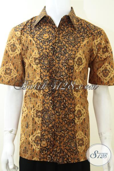 Jual Baju Kemeja Pria Batik Murmer Motif Klasik Kombinasi [LD2187P-L]