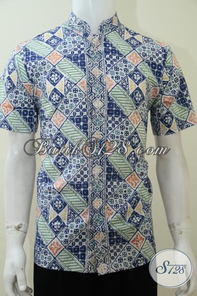 Satu Lagi Produk Terbaru Toko Batik Online Solo, Hem Batik Trendy Pemuda Jaman Sekarang, Baju Batik Koko Kerah Shanghai Fashionable, Size M – L – XL