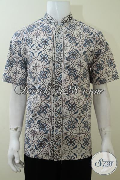 Hem Batik Koko Keluaran Terbaru 2014, Baju Batik Keren Motif Klasik Modern Siap Tampil Gaul Dan Modis, Size L – XXL