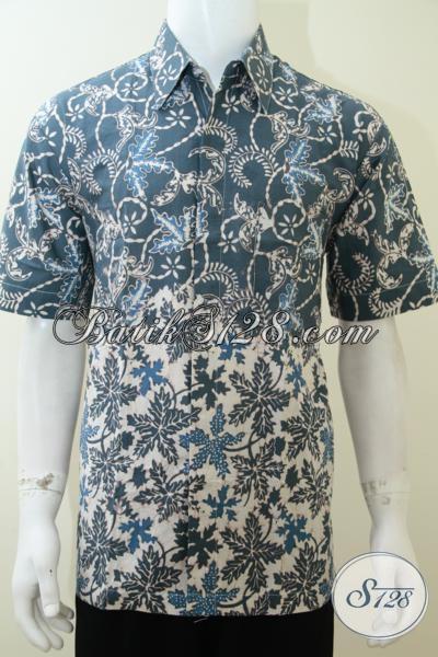 Jual Batik Pria Ukuran XL Motif Bagus Elegan Piyayi Solo [LD2273CA-XL]